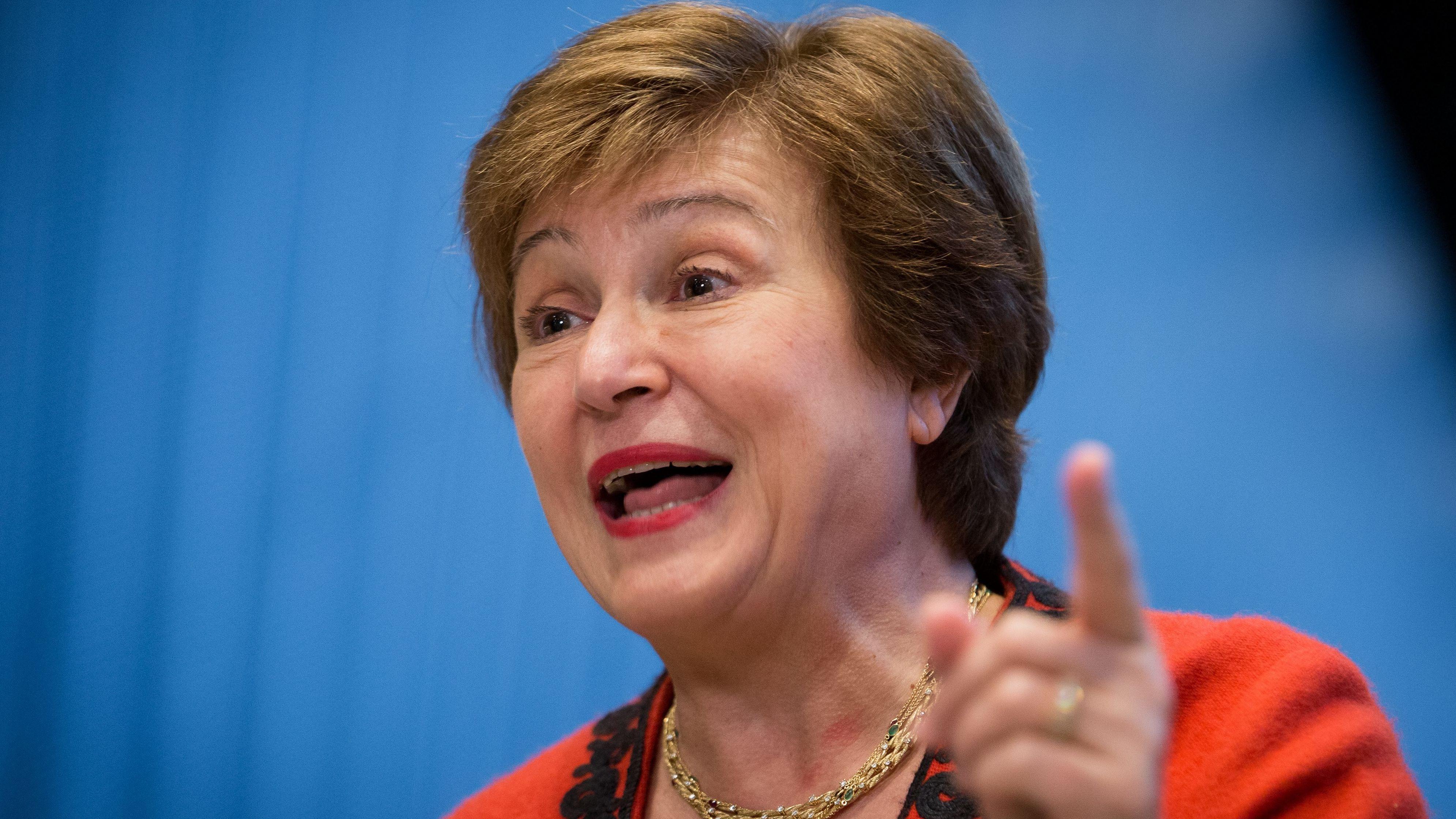 Kristalina Georgiewa, Geschäftsführerin der Weltbank