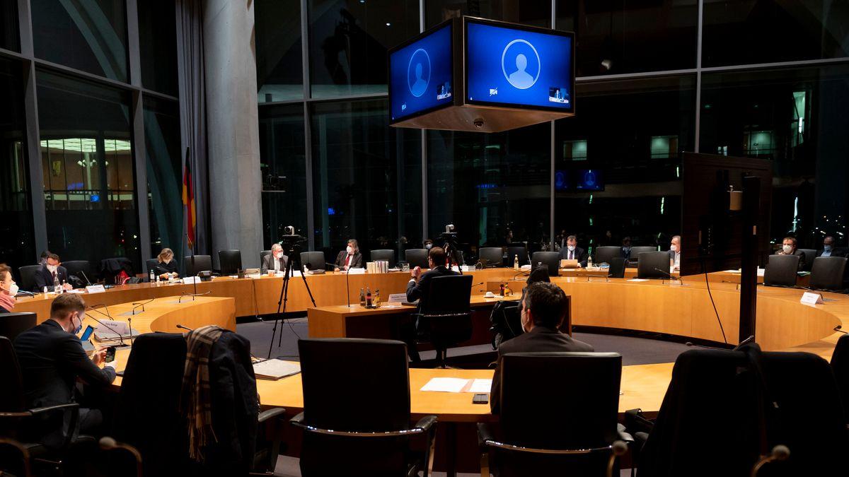 Sitzungssaal Untersuchungsausschuss PKW-Maut