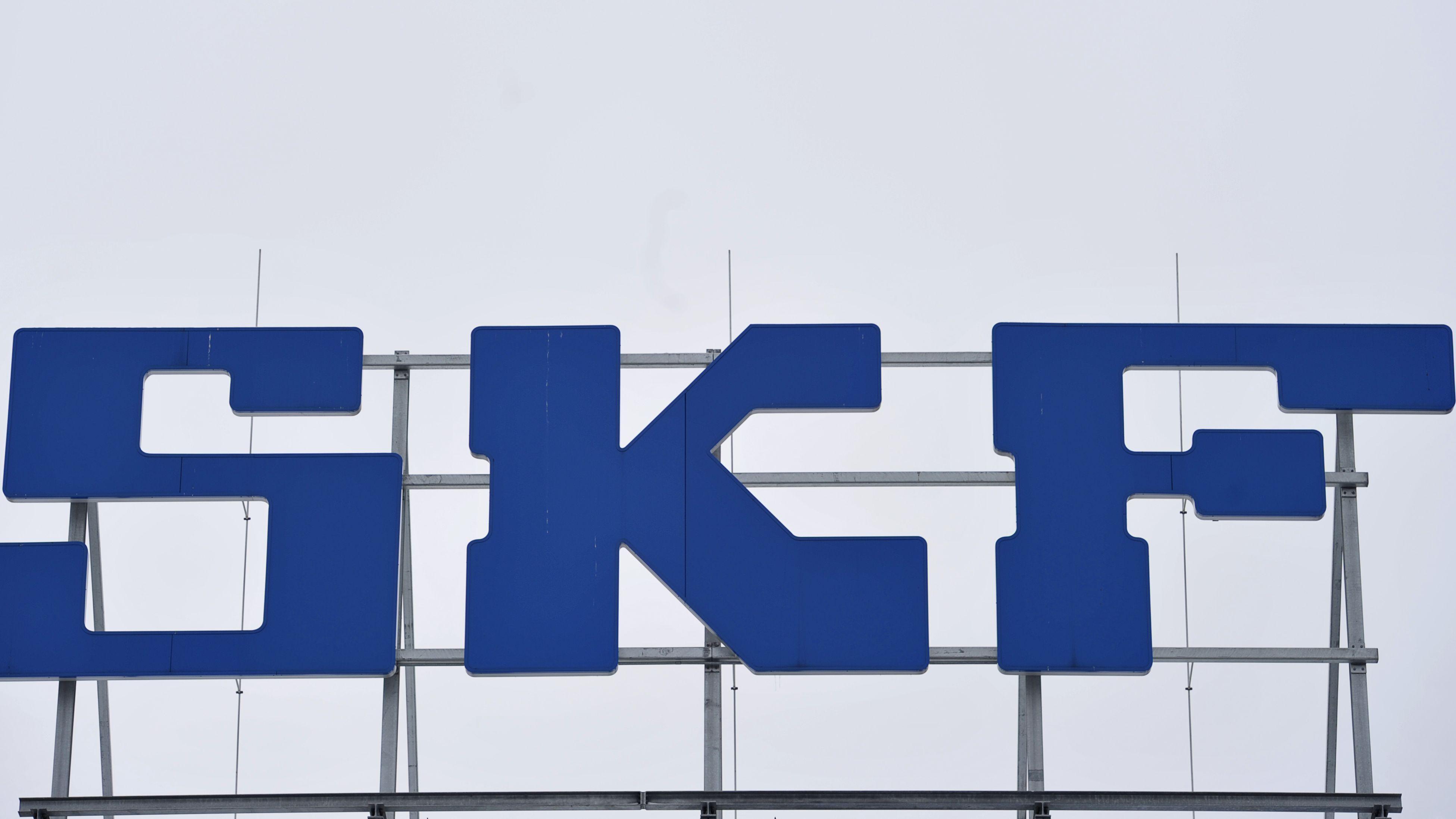 SKF-Schriftzug