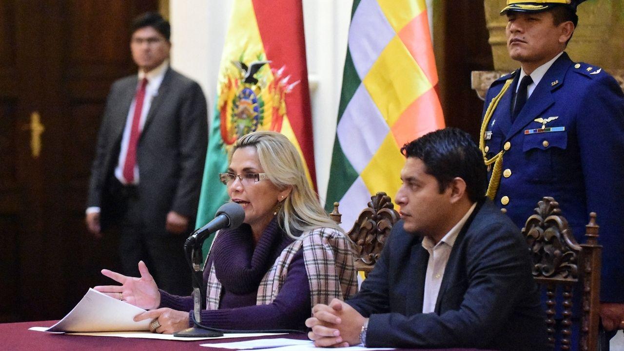 Lage in Bolivien