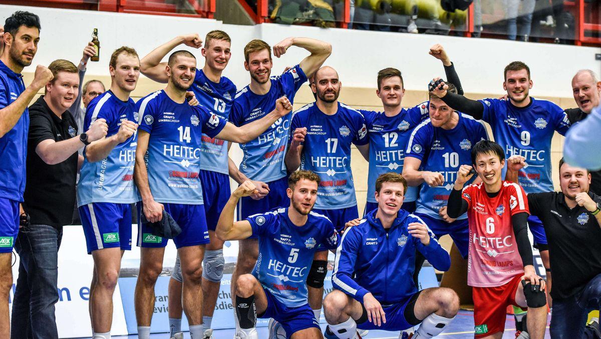 Archiv: Eltmann, Georg Schäfer Halle - 22.01.2020 - 1.Bundesliga, Volleyball - Heitec Volleys Eltmann vs VfB Friedrichshafen