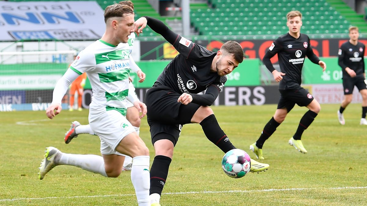 2. Fussball - Bundesliga --- 26. Spieltag: SpVgg Greuther Fürth - 1. FC Nürnberg