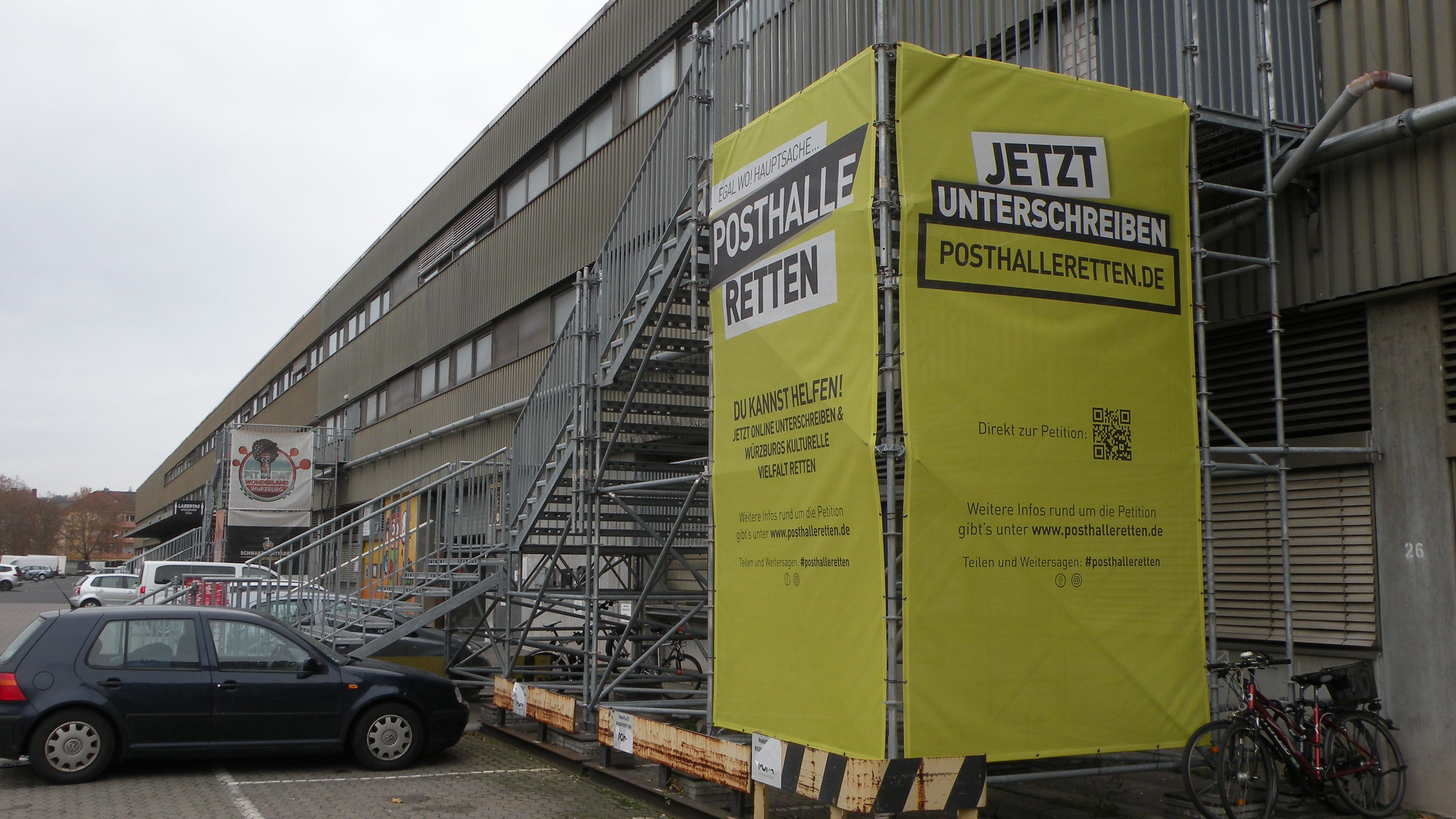 Posthalle retten – 21.000 Unterschriften an Oberbürgermeister