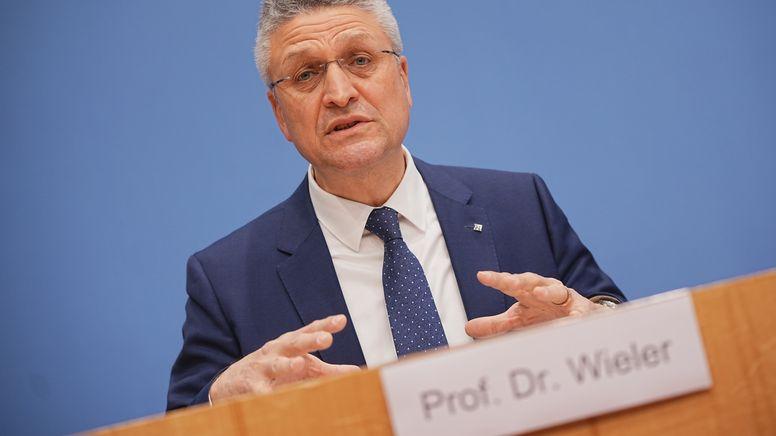 RKI-Chef Lothar Wieler | Bild:dpa