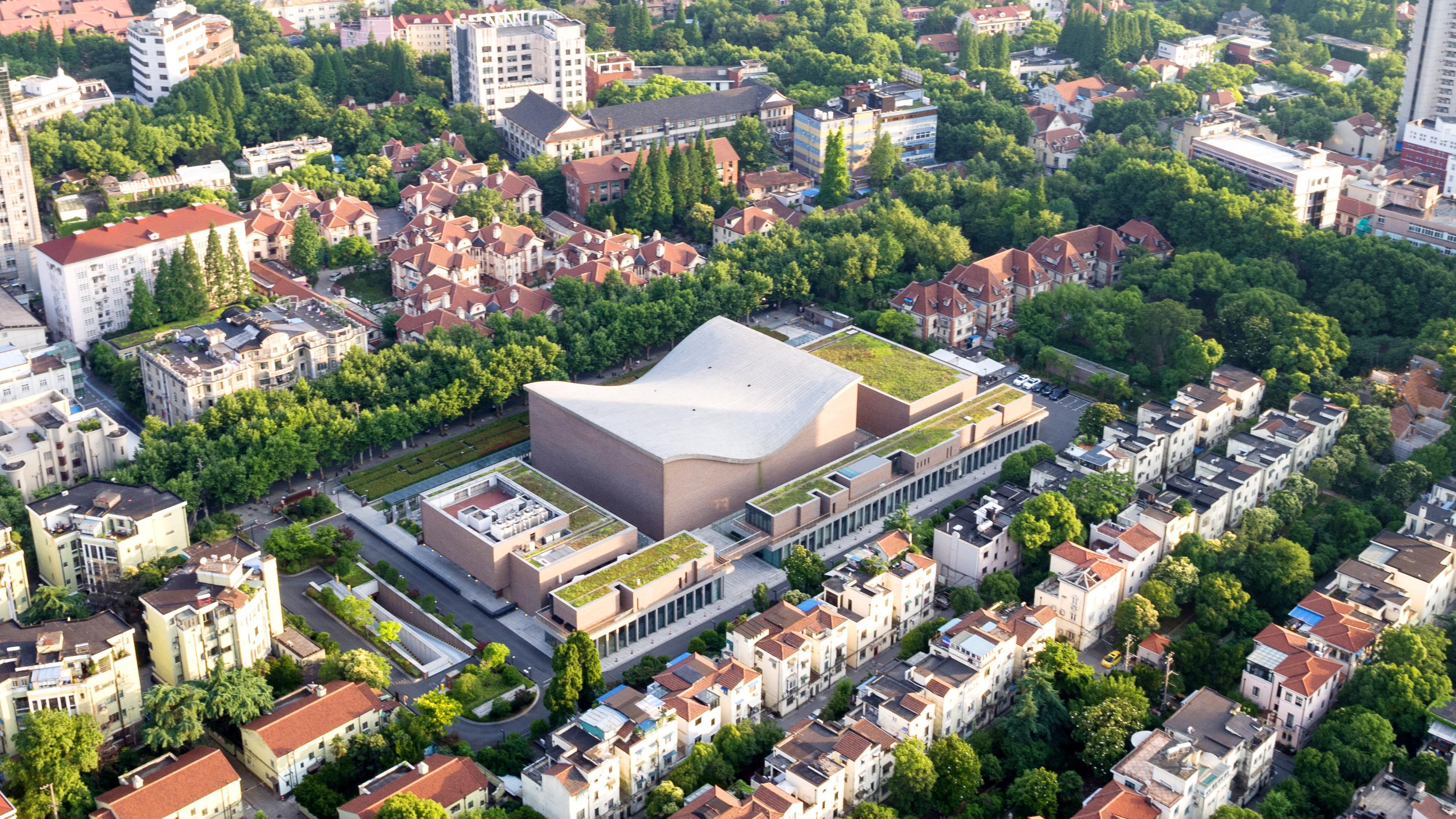 Die Shanghai Symphony Hall (2008-2014) von Arata Isozaki