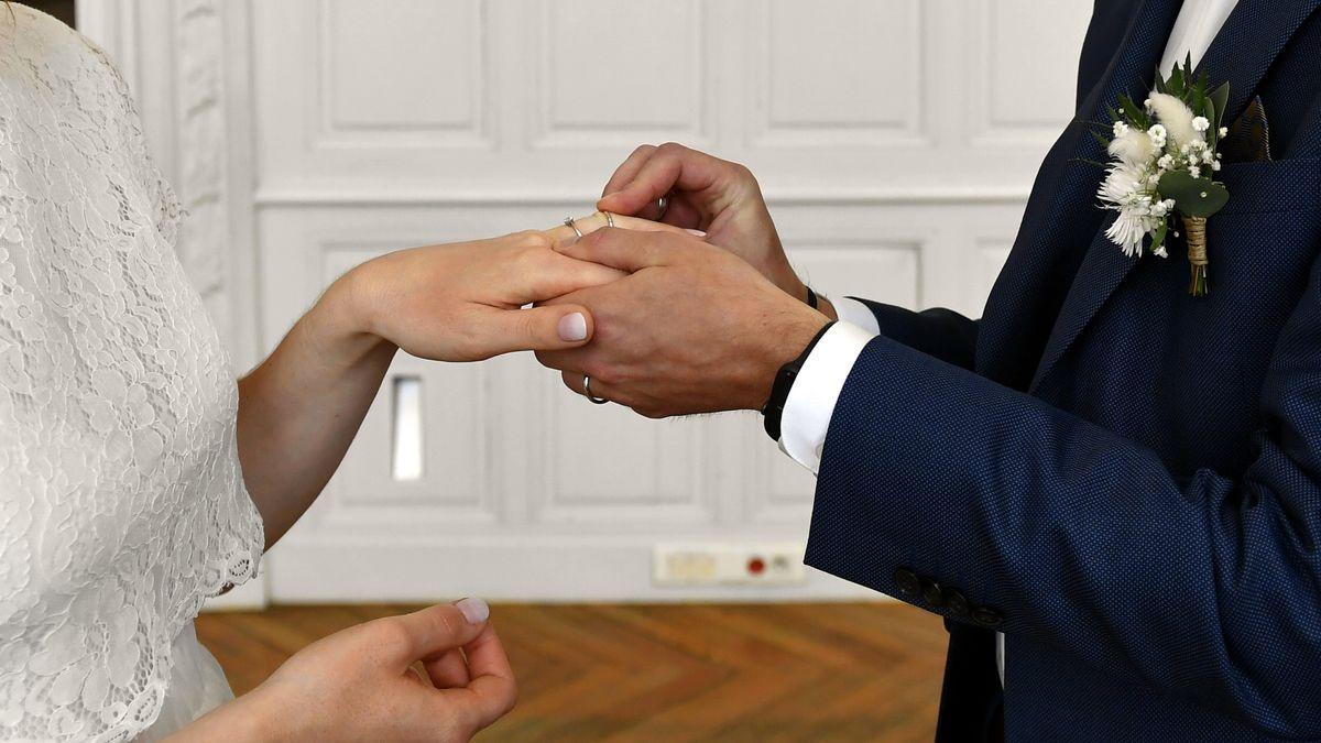 Hochzeit. (Symbolbild)