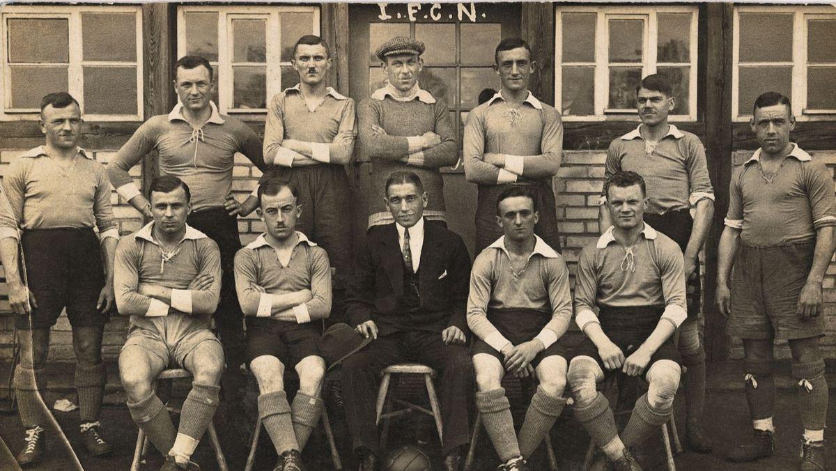 Die Nürnberger Meistermannschaft 1920