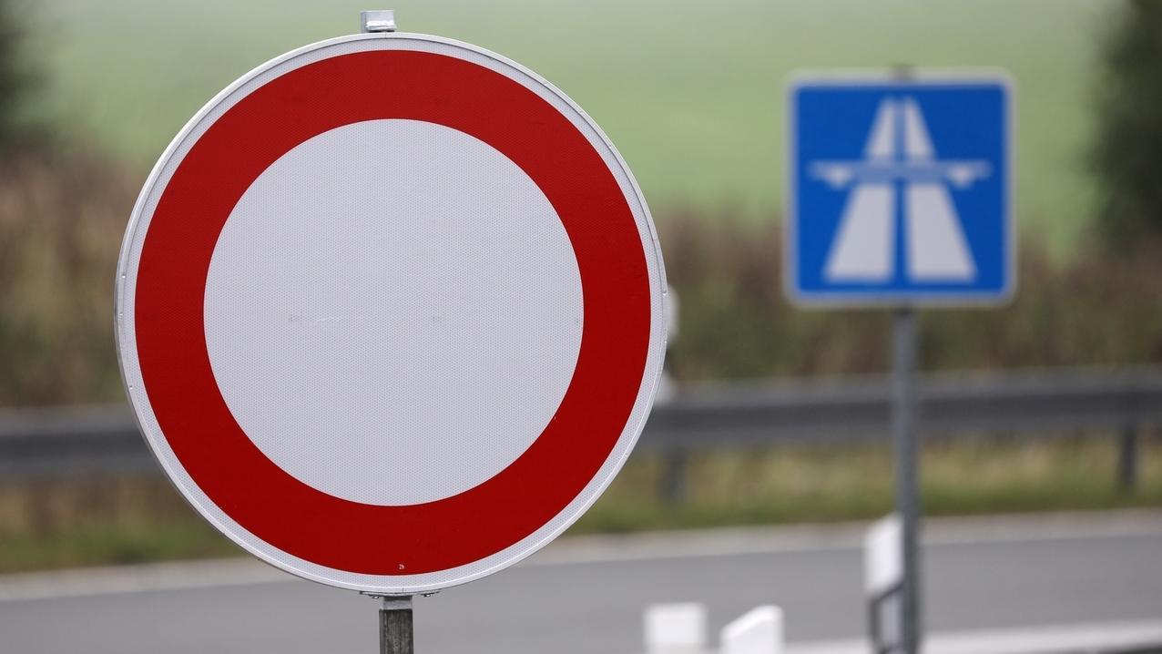 Autobahn 70 am Wochenende im Landkreis Haßfurt gesperrt