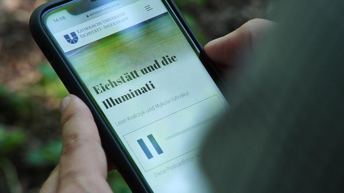 """Eine Folge der Podcast-Serie """"In einem Eichstätt vor unserer Zeit"""""""