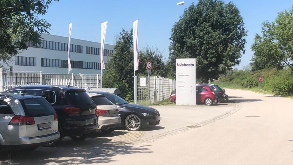 Der Firmensitz von Webasto in Hengersberg im Landkreis Deggendorf