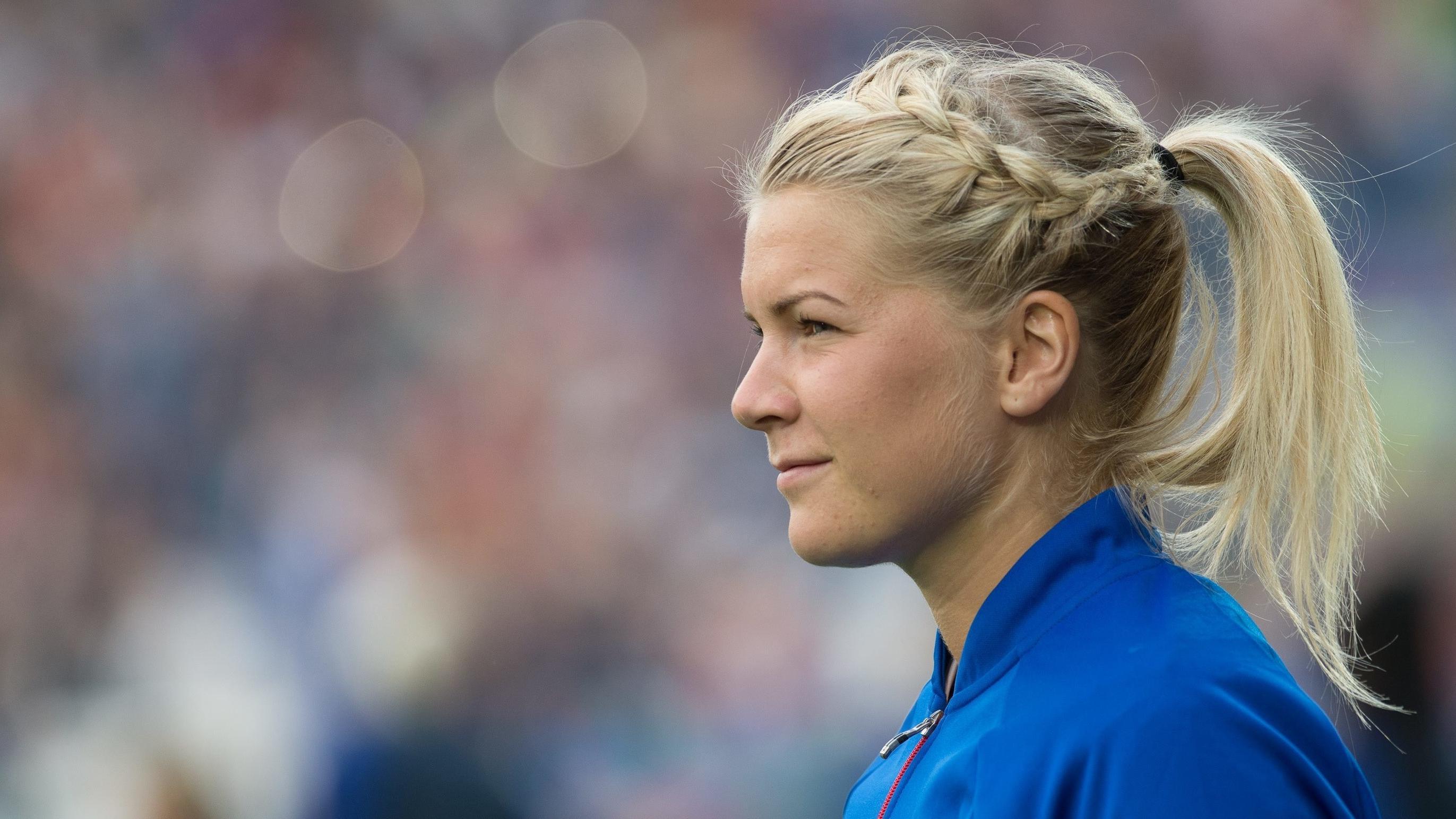 Die norwegische Fußballerin Ada Hegerberg