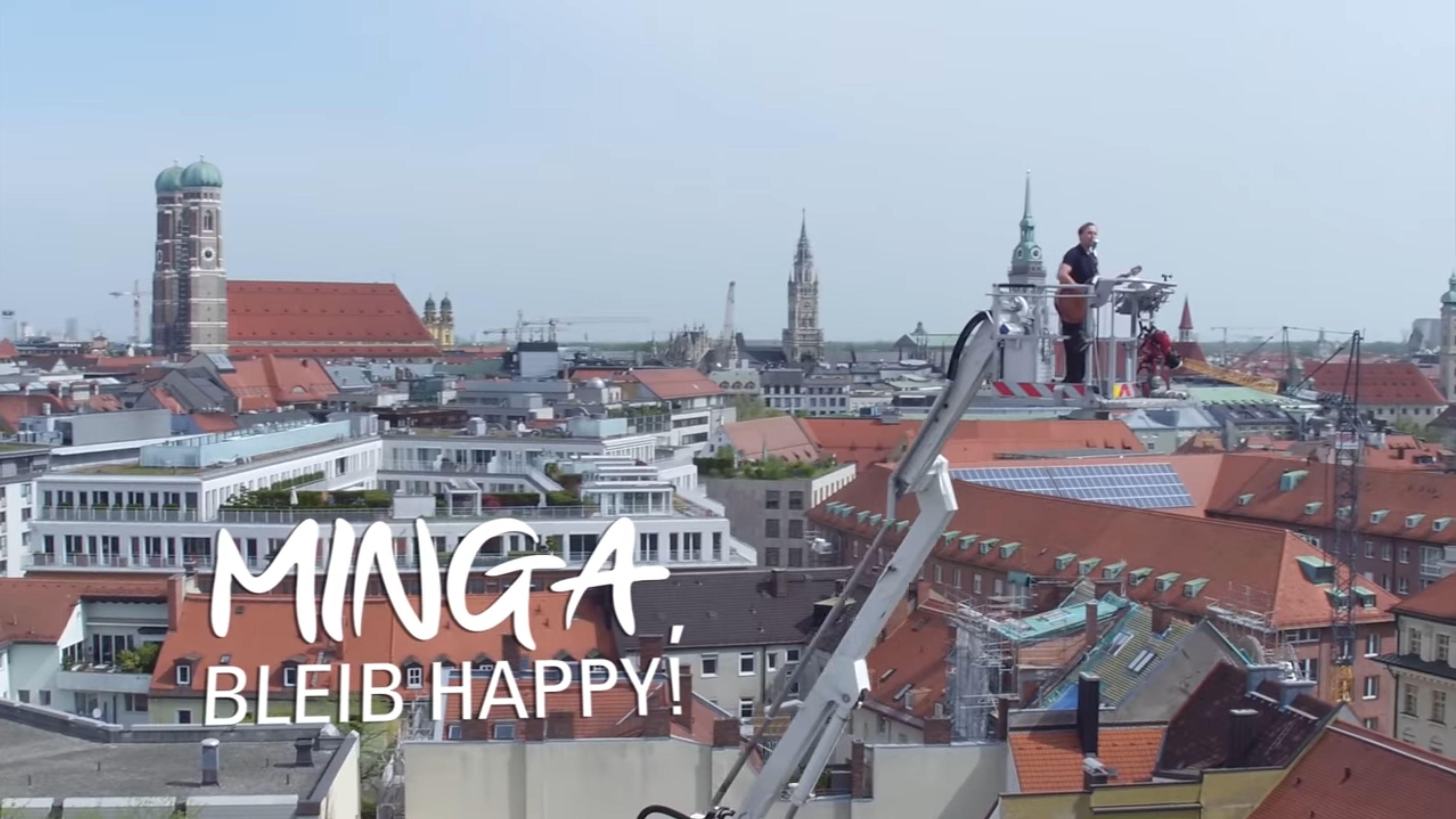 """""""Minga, bleib happy!"""" - Die Münchner Berufsfeuerwehr hat auf YouTube einen Song veröffentlicht"""