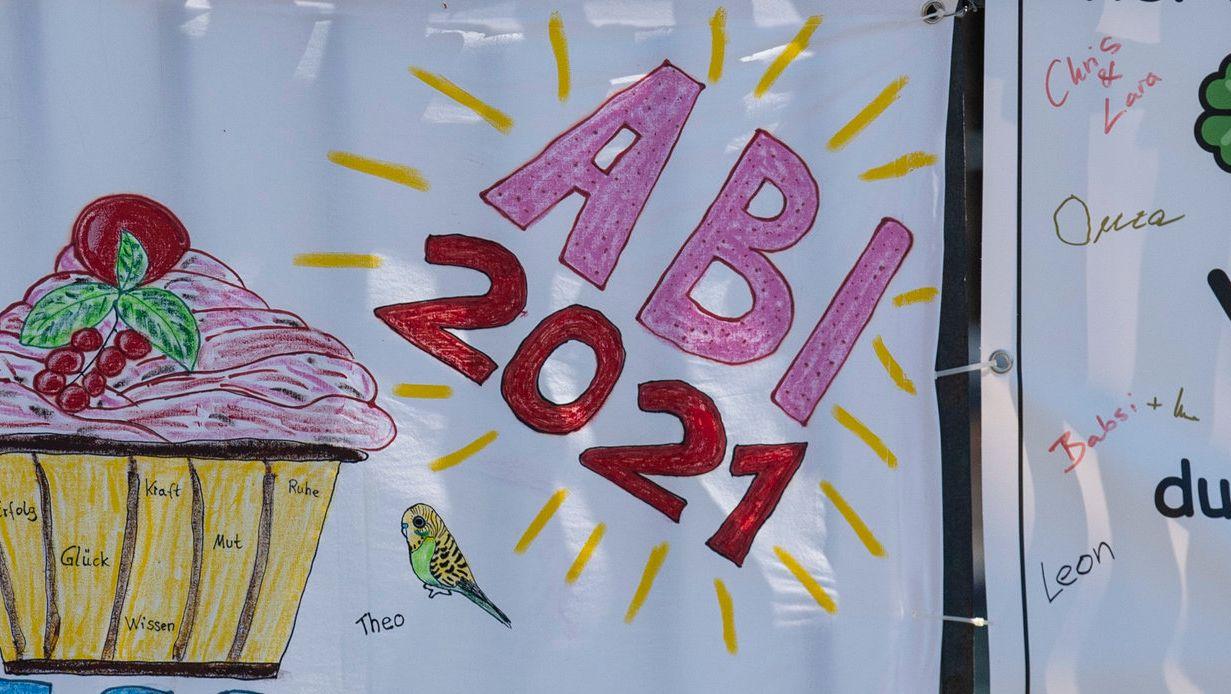 Abitur-Plakat (Symbolbild)
