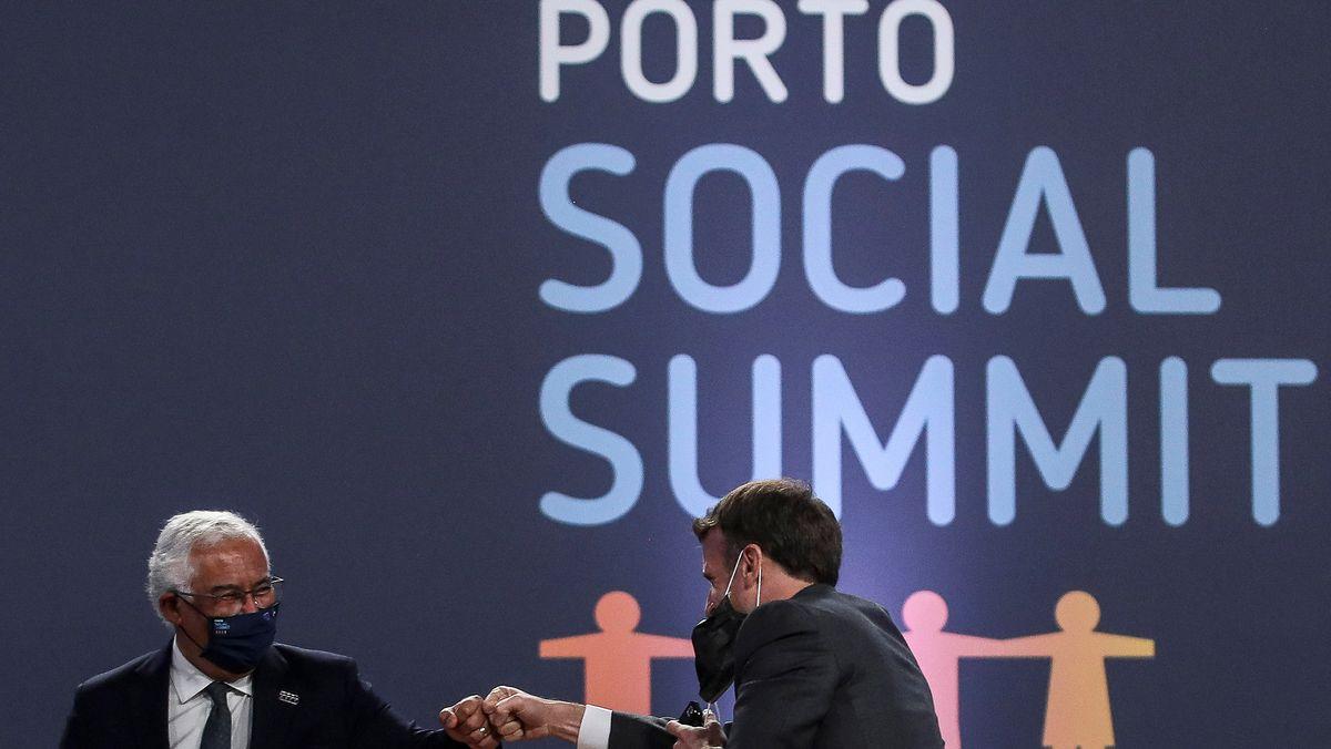 EU-Sozialgipfel in Portugal
