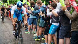 Andreas Dreitz beim Triathlon Roth 2019 am Solarer Berg | Bild:BR/Henry Lai