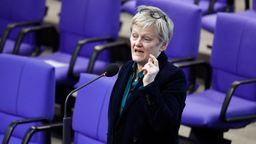 Die Grünen-Politikerin Renate Künast hat Klage eingereicht | Bild:picture alliance / Geisler-Fotopress | Christoph Hardt/Geisler-Fotopres
