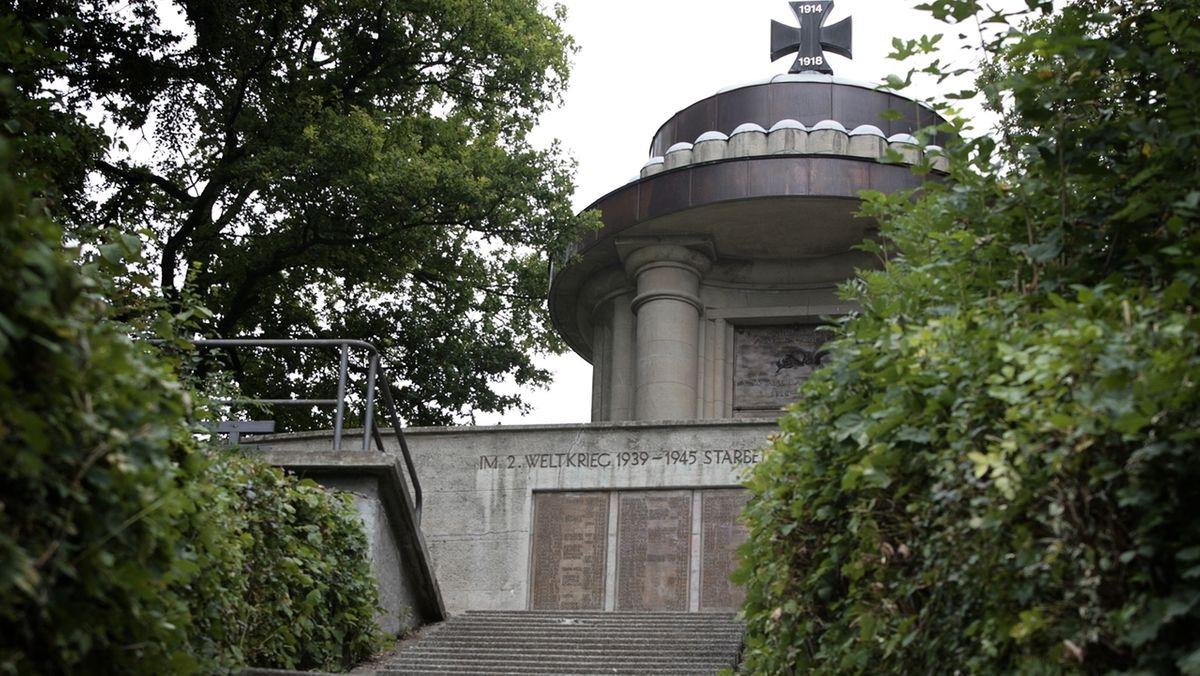 Das Kriegerdenkmal in Gräfenberg.
