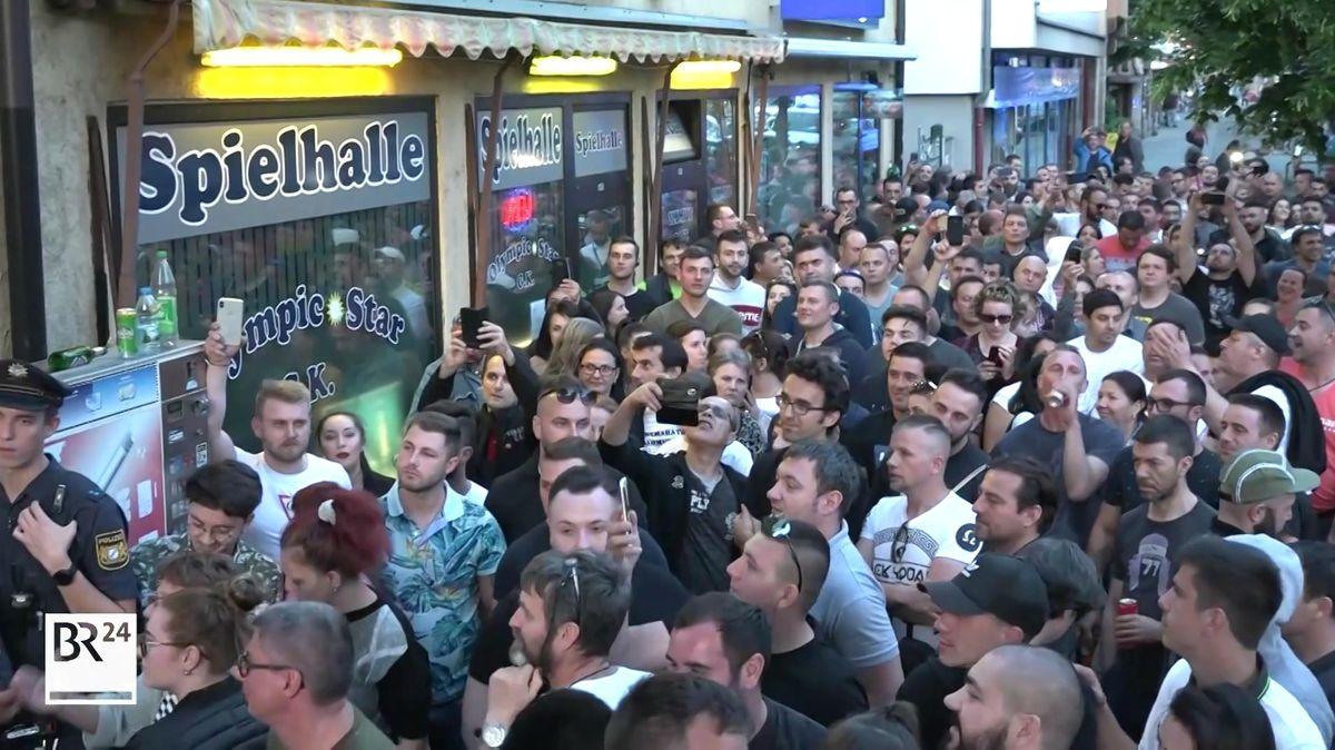Großer Andrang vor rumänischem Wahllokal