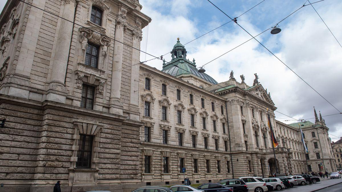 Das Landgericht München I in der Innenstadt.