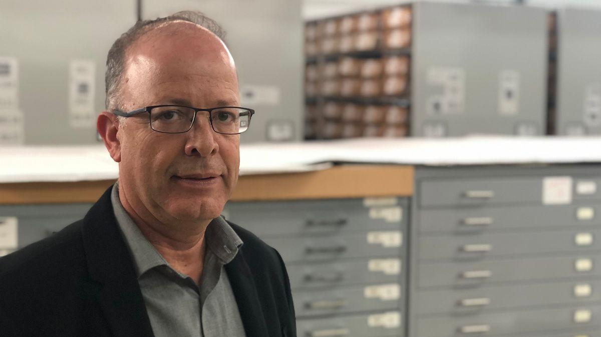 Haim Gertner, Direktor der Archive in Yad Vashem.