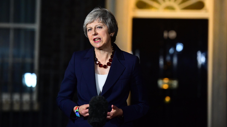 Theresa May, Premierministerin von Großbritannien