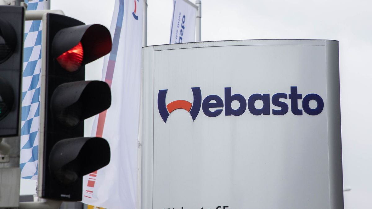 Webasto-Firmenzentrale in Stockdorf bei Gauting (Landkreis Starnberg).
