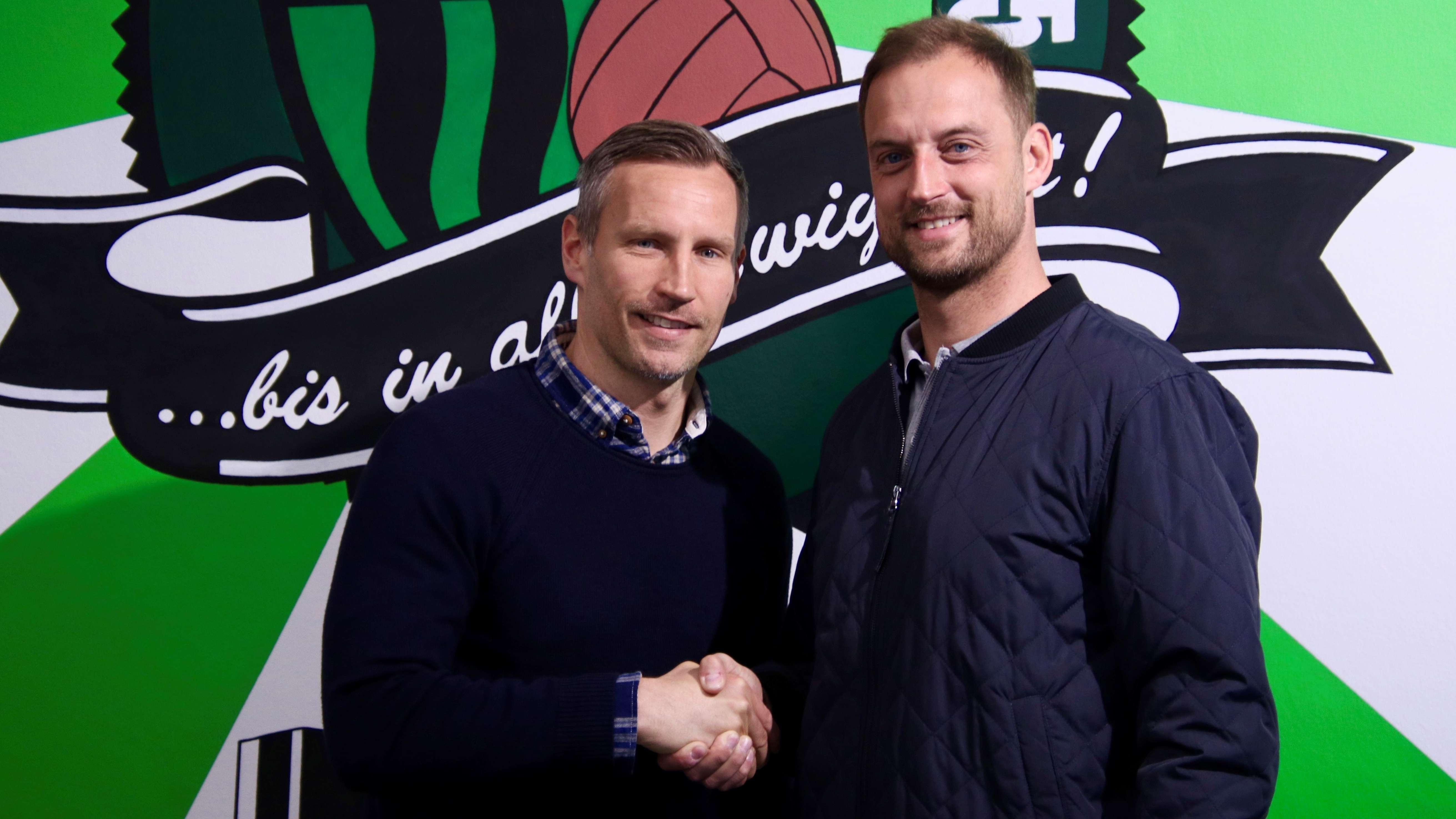 Timo Wenzel (links), Björn Schlicke (rechts)