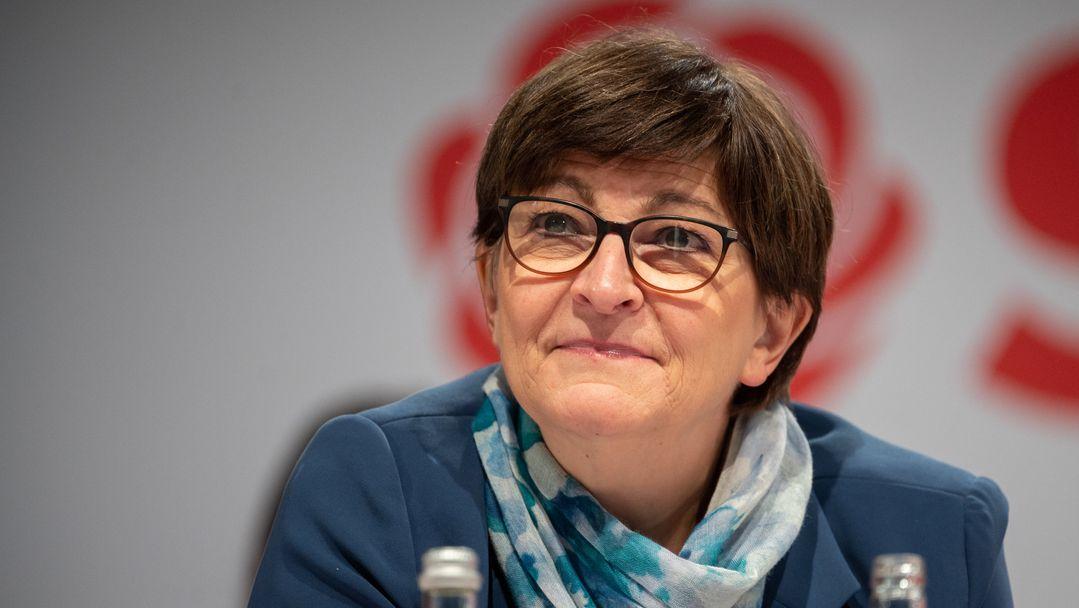 SPD-Chefin Saskia Esken