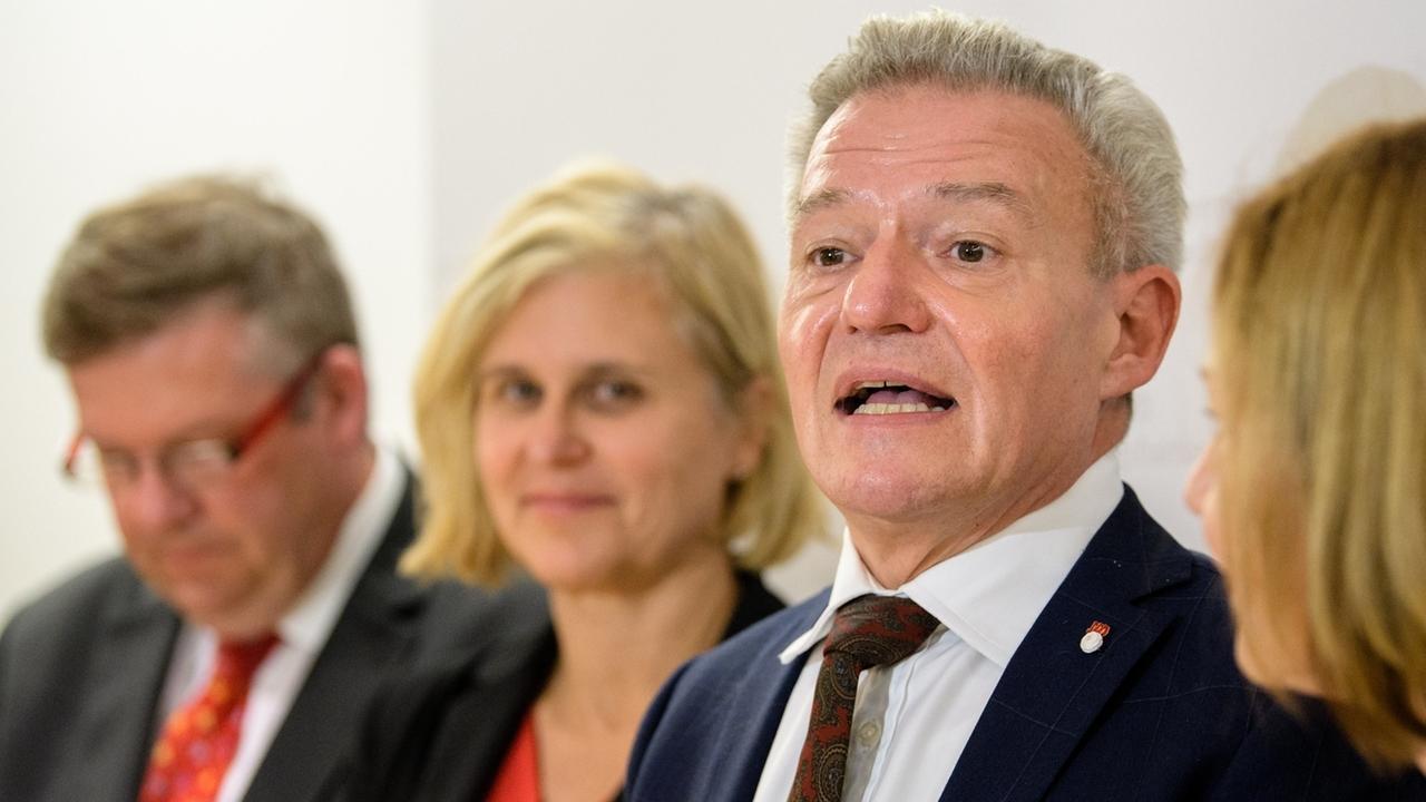 Der neue SPD-Landtagsfraktionschef Horst Arnold