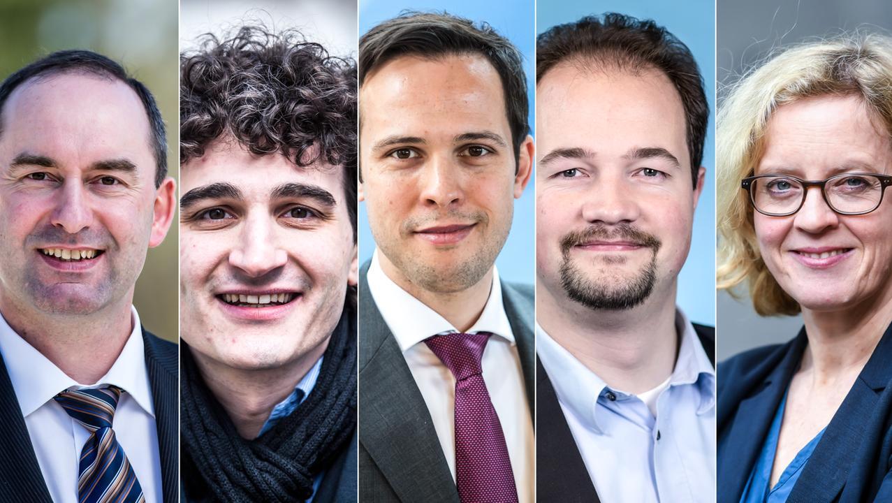 Die Kandidaten für den BR-Fünfkampf