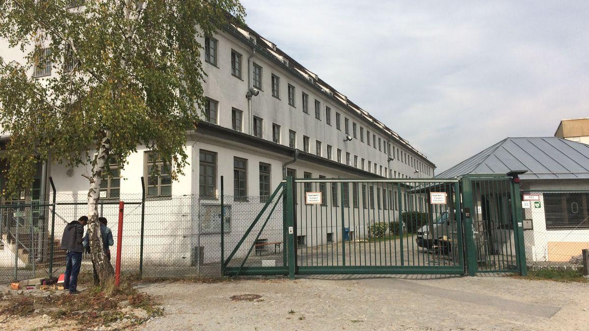 Das Ankerzentrum in Deggendorf.