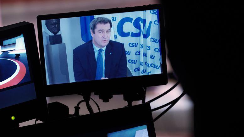 Zugpferd Söder:  CSU wirbt um Mitglieder außerhalb Bayerns | Bild:picture alliance/dpa | Michael Kappeler