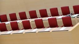 Regierungsbank im Bayerischen Landtag | Bild:pa / dpa / Peter Kneffel