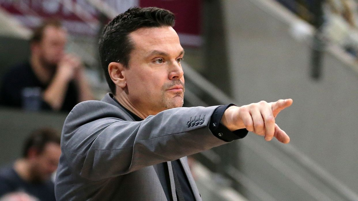 Bayreuths Trainer Raoul Korner