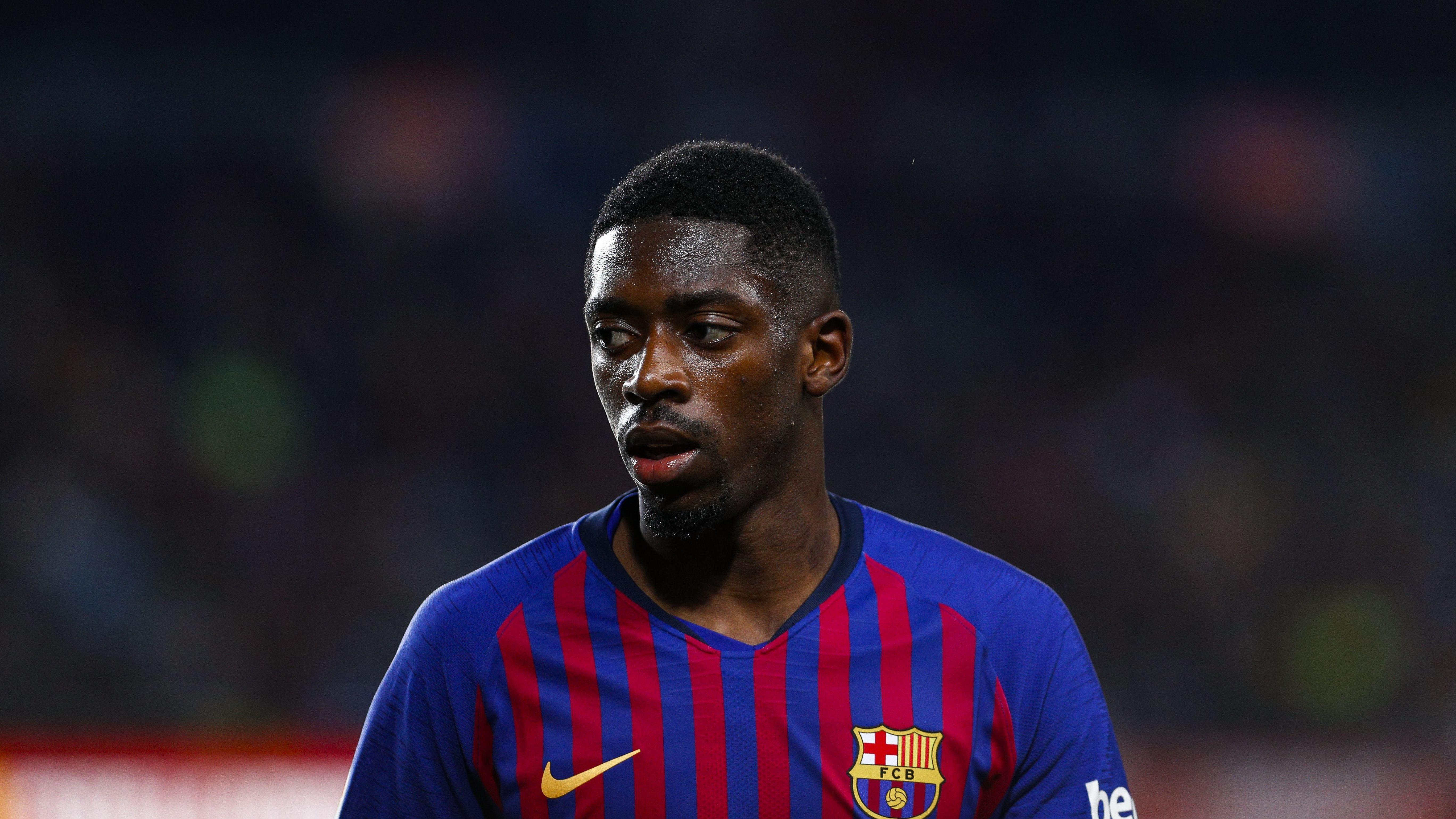 Ousmane Dembélé im Trikot des FC Barcelona