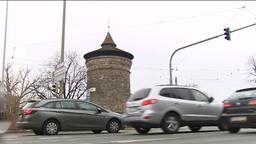 Autos in der Nürnberger Innenstadt | Bild:BR