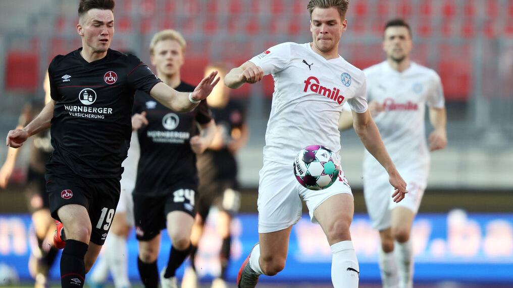 Spielszene 1. FC Nürnberg - Holstein Kiel