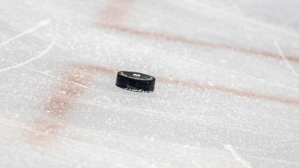 Eishockey-Puck