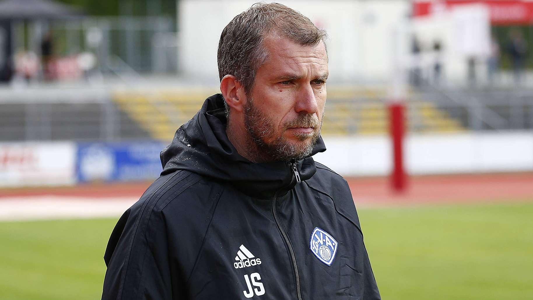 Viktoria-Trainer Jochen Seitz