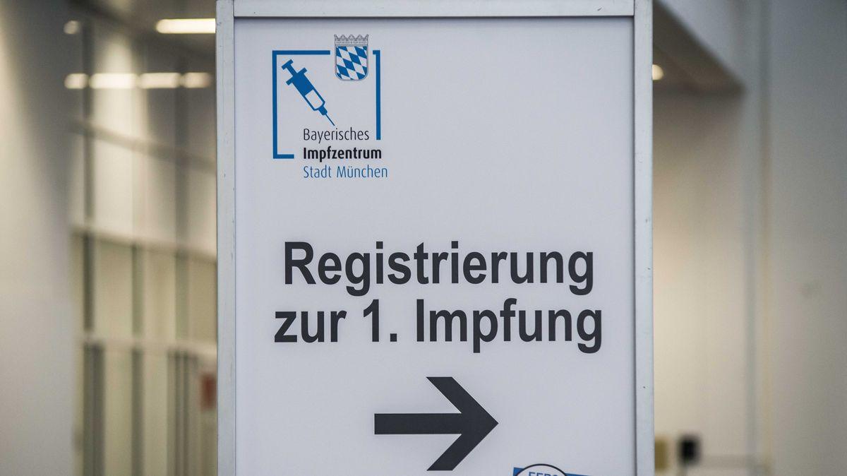 Impfzentrum München Riem im Juni 2021.