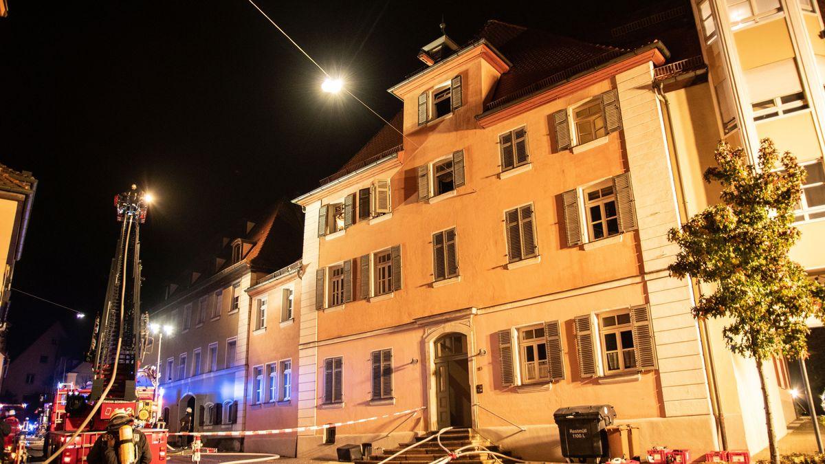 Brandort in Schwabach
