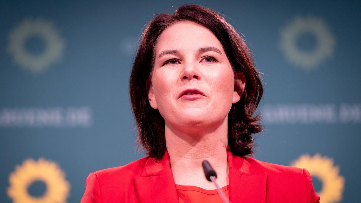 Die Kanzlerkandidatin der Grünen: Annalena Baerbock.
