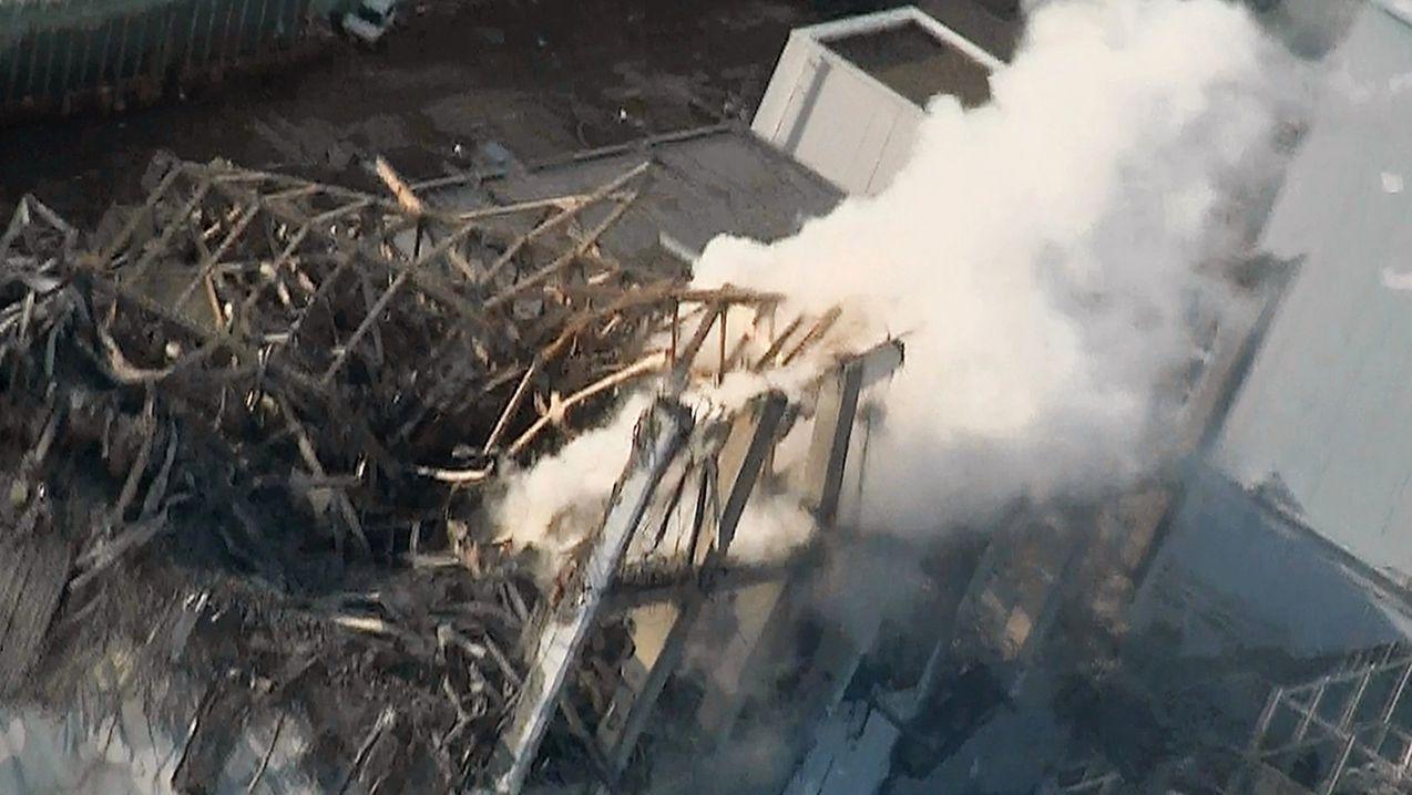 ARCHIV - 16.03.2011, Japan, Okuma: Kernkraftwerk Fukushima Daiichi