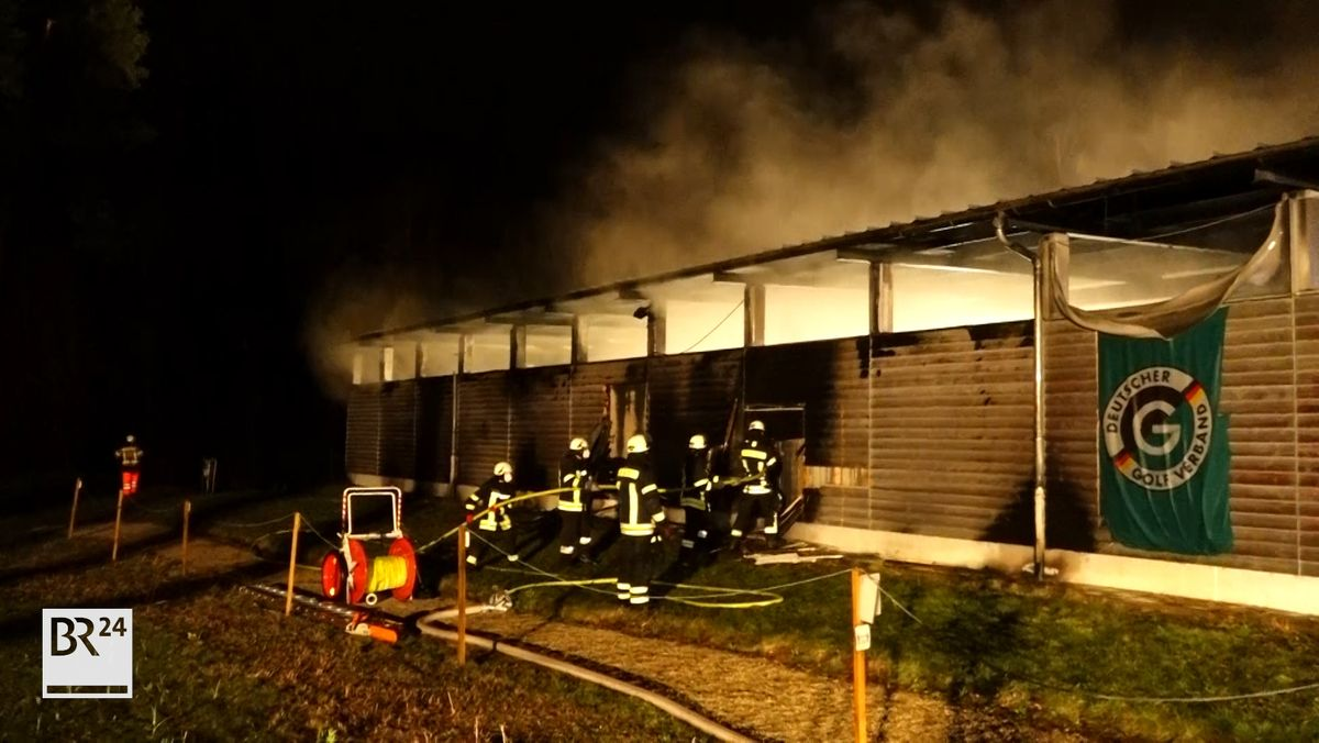 Brand in Bamberger Golfclub