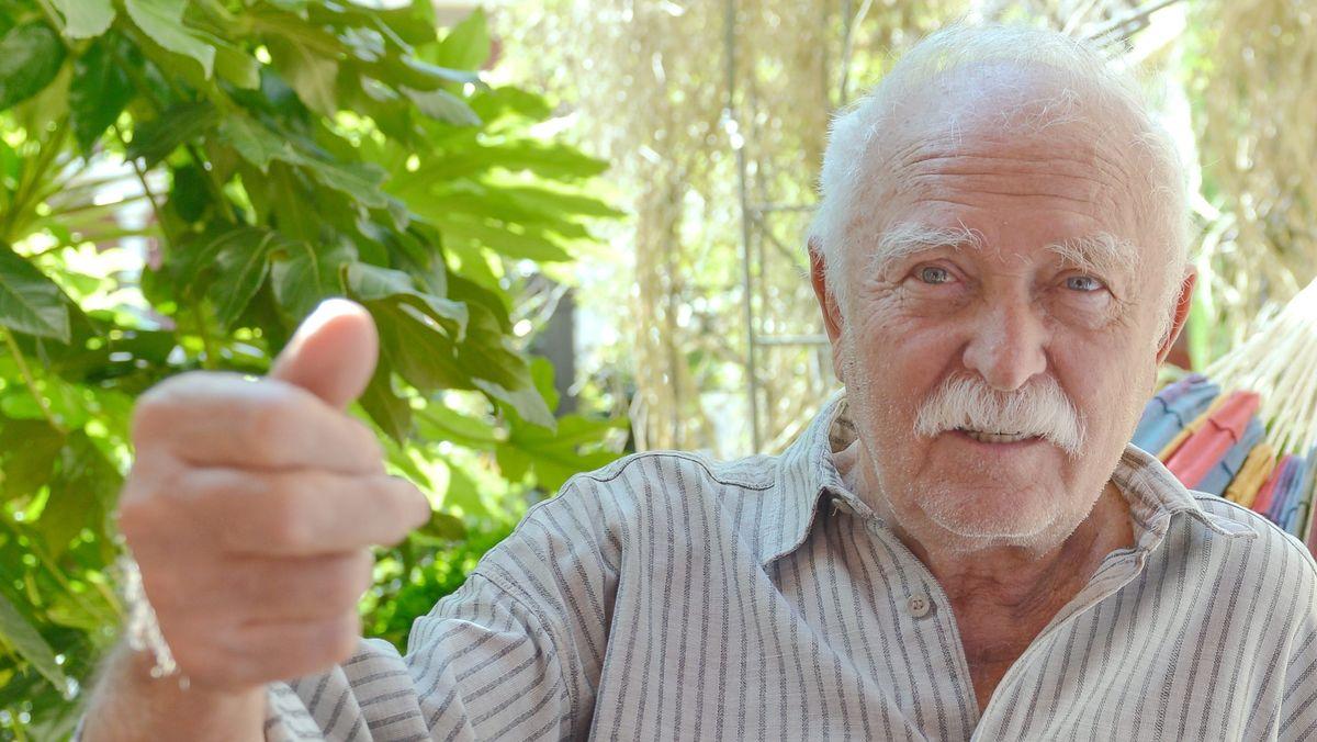 Inzwischen genießt Horst Eckert sein Leben auf Teneriffa, mit Hängematte.