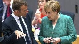 Emmanuel Macron und Angela Merkel | Bild:pa/dpa/Stephanie Lecocq