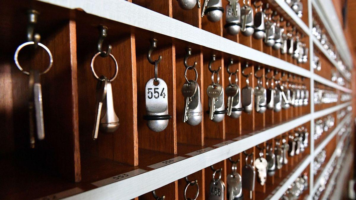 Symbolbild: Schlüssel von Hotelzimmern