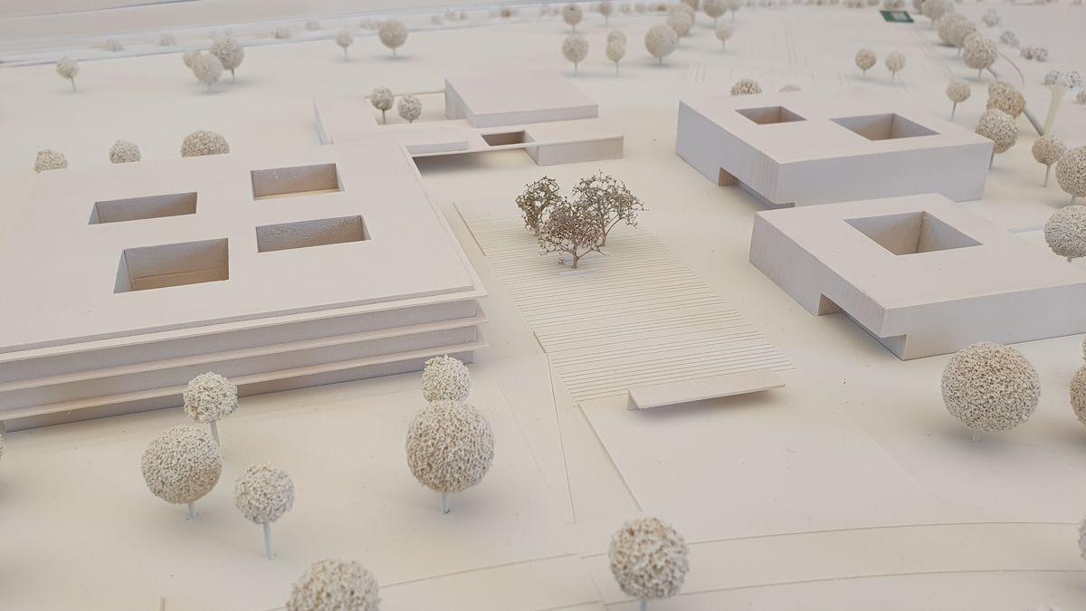 Siegerentwurf für das neue Schulzentrum in Hammelburg