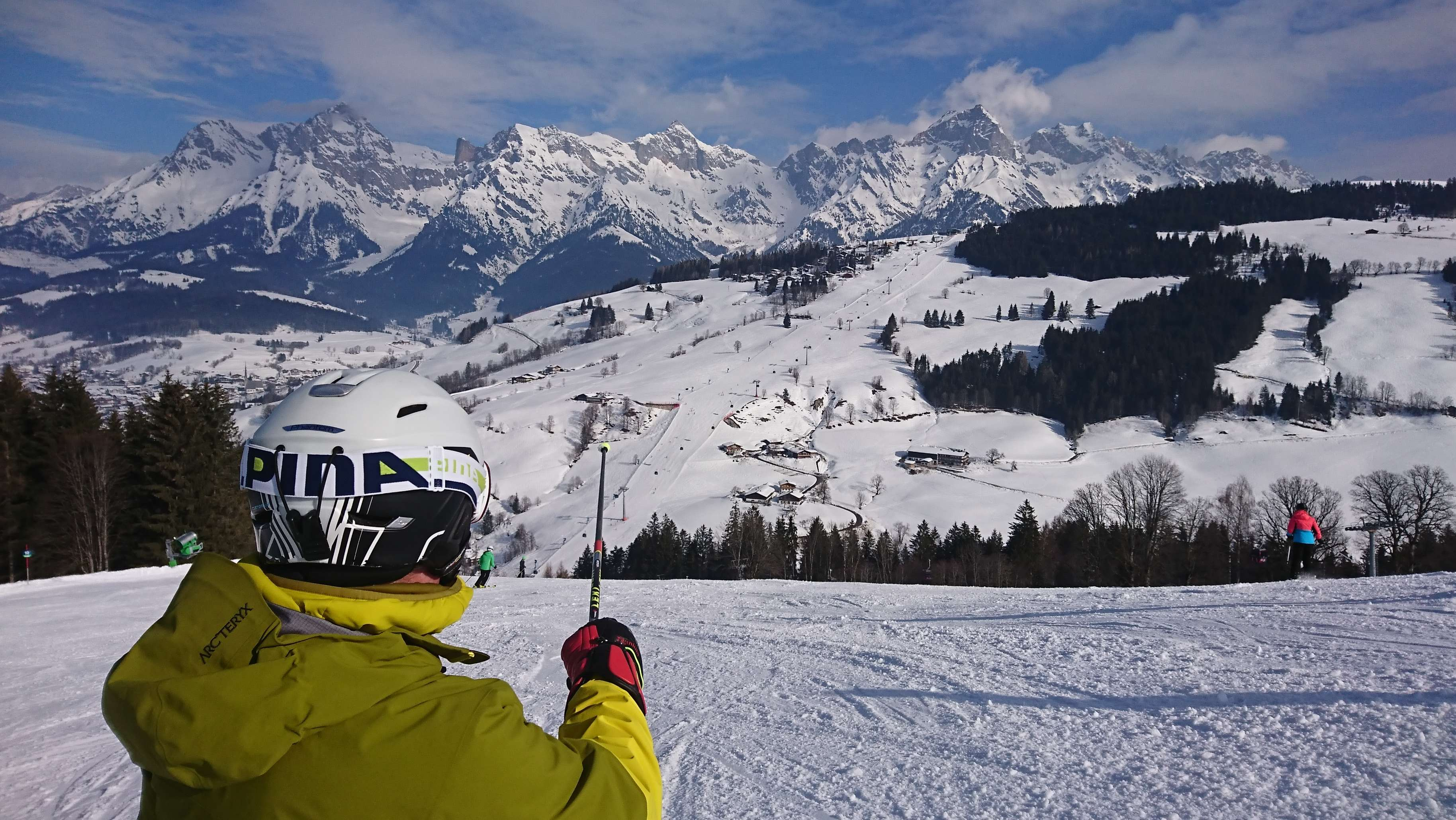 Skitipp:  Die Königstour am Hochkönig