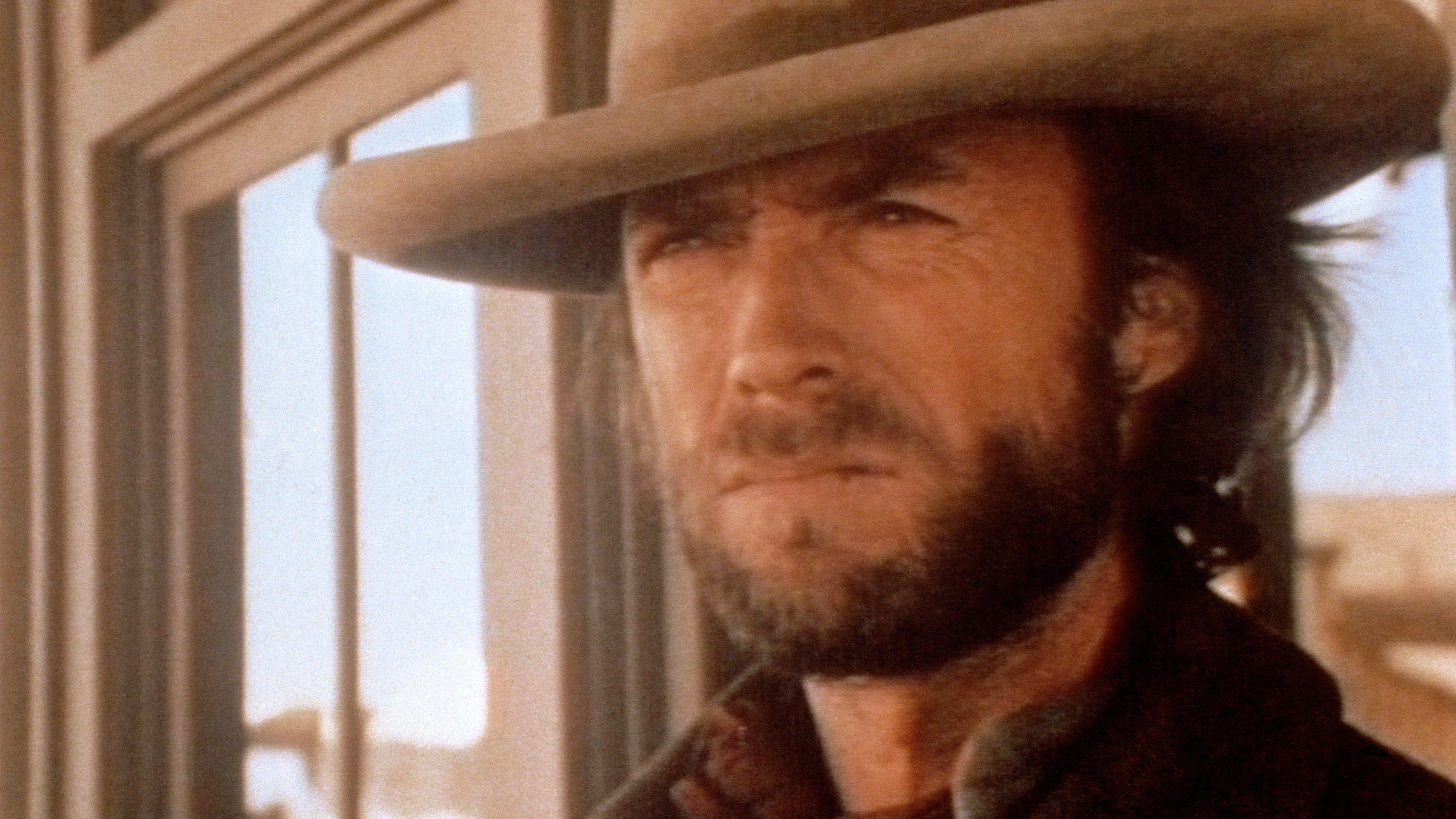 """Clint Eastwood im Western """"Der Texaner"""" von 1976."""